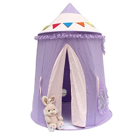 Foldable Castle Kids Home Play Teepee Tent For Party